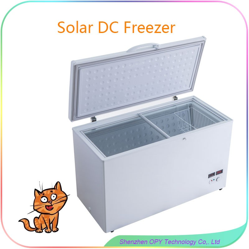 268 liter solar sliding freezer refrigerator parts