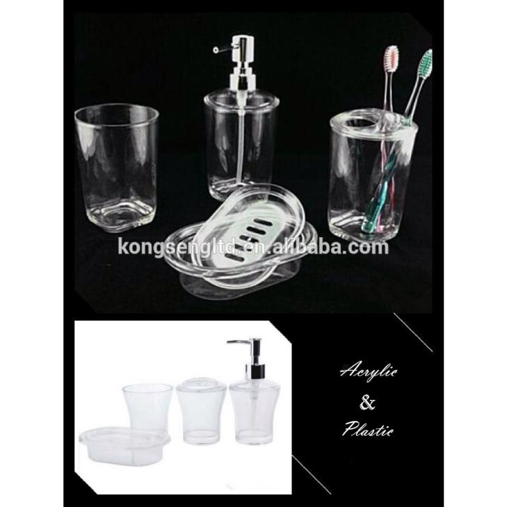 Acrylic Crystal Clear Bathroom