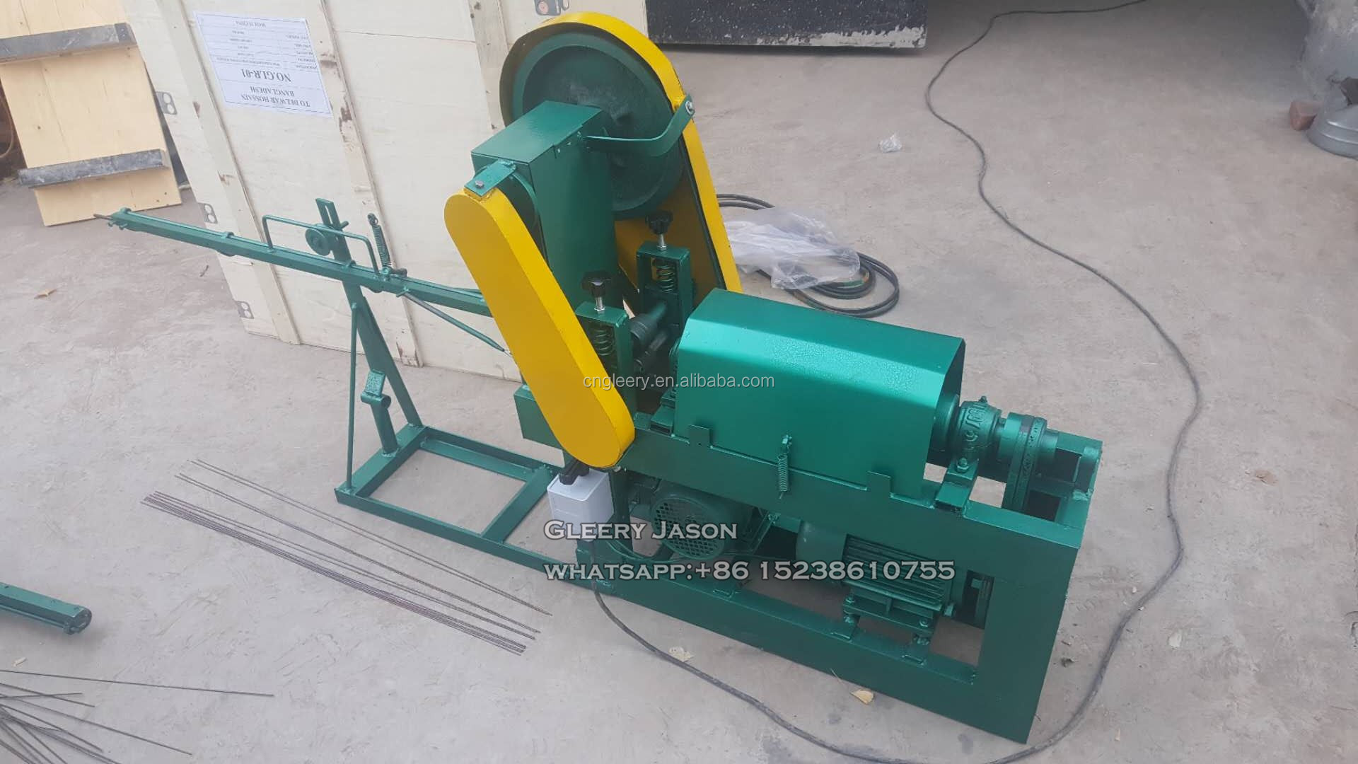 GLR3-6 Small type zero error mechanical type steel wire straight and cut machine
