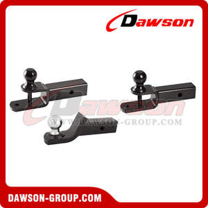ATV trailer parts shank ball joint mount