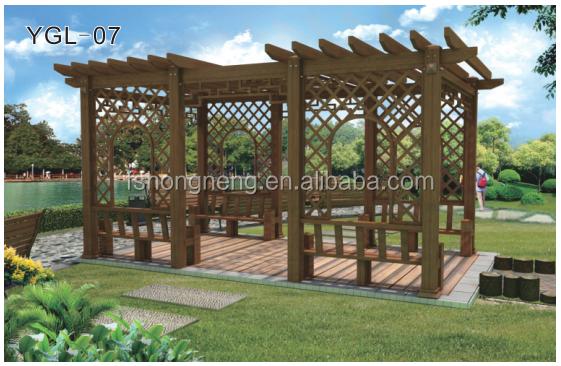 Jard n de metal arco puente pvc decorativo enrejado de for Arco decorativo jardin