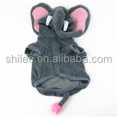 Funny Elephant animals shape dog sports clothes