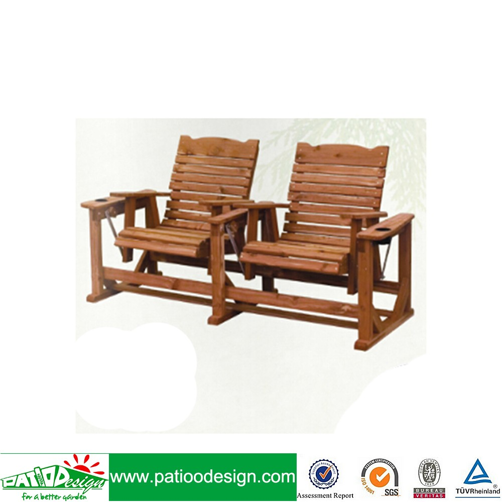 Wooden Straightback 2 seat Chair