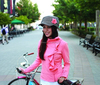 Top fashion fabric street bike helmets