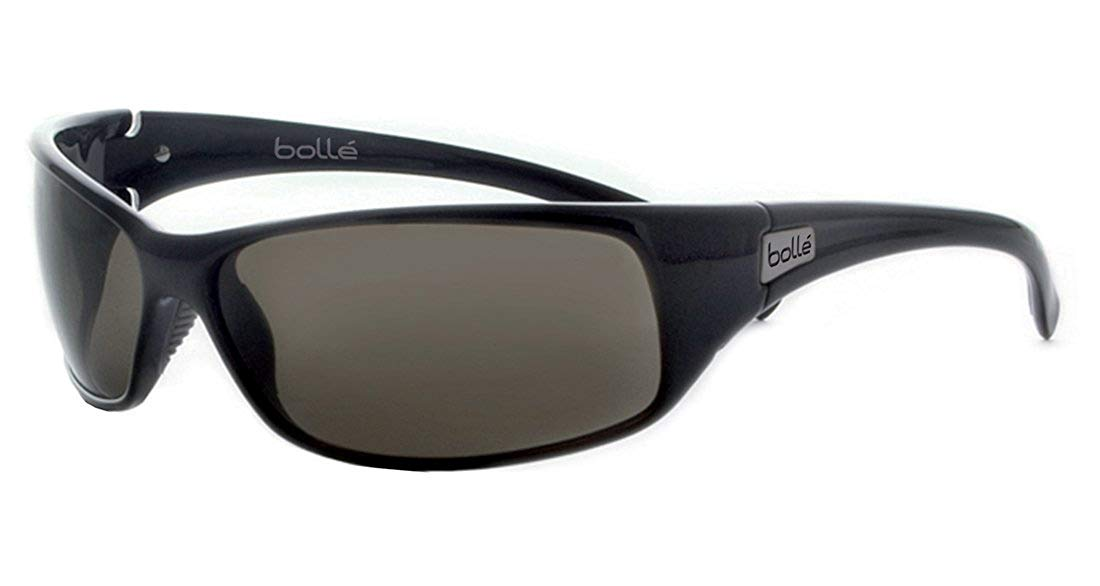 dd85e06da8 Get Quotations · Bolle Sport Recoil Sunglasses (Shiny Black TNS)