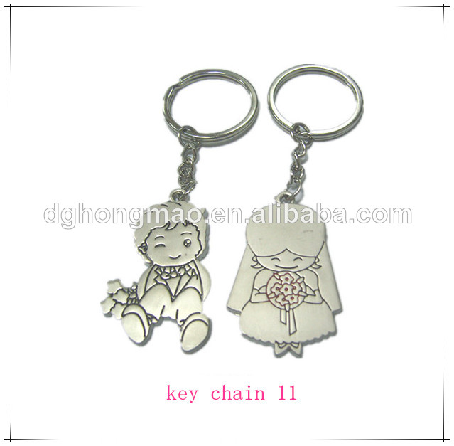factory hot sales metal usb stick with key chain