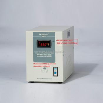 Wholesale HOSSONI,SVC,TND type stabilizer(AVR),VOLTAGE REGULATOR ...