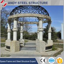 Light Steel Frame Structure Modern Building Skylight Dome Roof