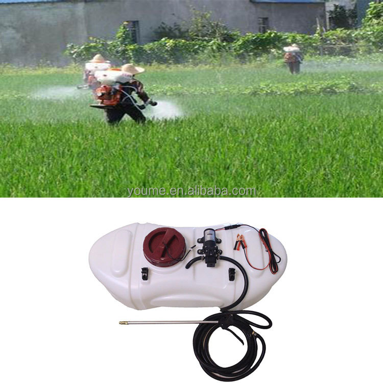 Singflo 60L tank agriculture power pesticide spray machine atv sprayer trailer