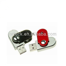 Big promotion 100% real capacity pen drive 4GB 8GB 16GB 32GB cute oval swivel usb flash