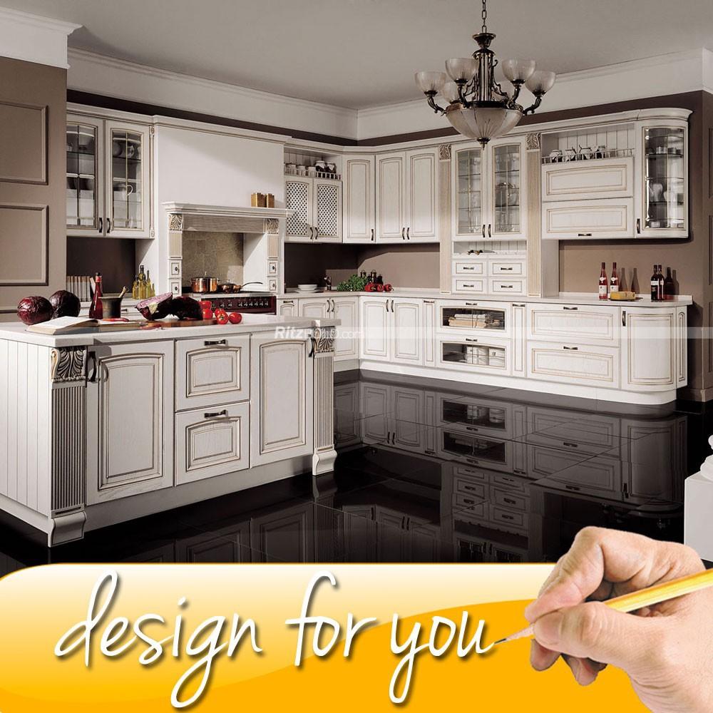 armarios de roble cocina modular color personalizado