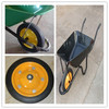 13x3 wheel barrow solid rubber wheel