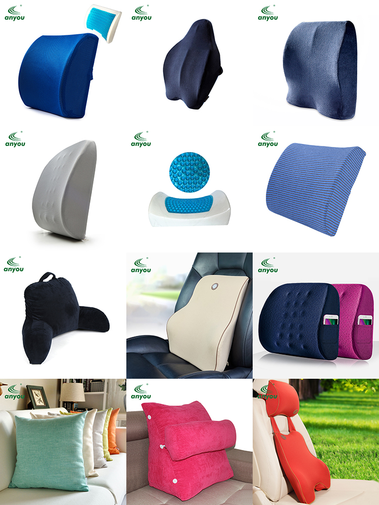 New Style High Quality Memory Foam Back Support Cushion
