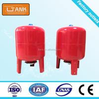 Storage Receiver Vertical Stainless Steel Water Pump Pressure Tank
