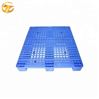 Single Sides 100% Virgin PP/HDPE Reinforce 8 steel pipes 4-Way Entry Warehouse Storage Plastic Pallets