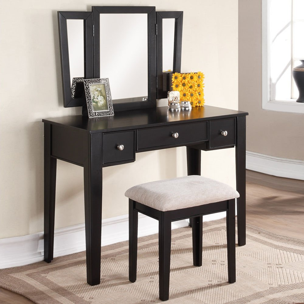 Cheap Black Makeup Vanity Table, find Black Makeup Vanity Table ...