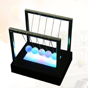 Wholesale cheaper price Newton's Cradle Balance Ball, Newton Pendulum with Metal Swing ball Newton's cradle