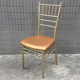 Hot Sale Banquet Metal Used Gold Chiavari Chair JC-A503