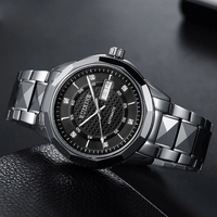 2019 new Swiss genuine automatic mechanical watch man hollow waterproof luminous trend watch