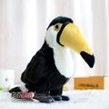 2016 Free shipping Export Simulation plush toys hornbill Wild Birds Plush Toys 26cm Stuffed Plush Animals