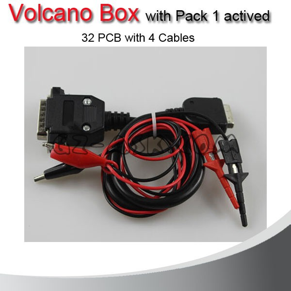 2015 Version Volcano Box With Pack 1 Activate 32pcs With 4 Cable ...