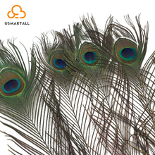 chinese factory wholesale cheap artificial peacock feathers for vases