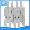 White Marble for sale long hexagon marble mosaic wall tile