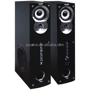 With MP3 support 2.0 tower speaker box