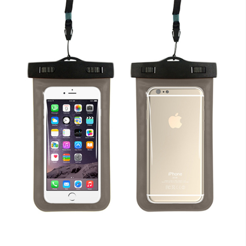 New Phone Case Cell Phone Neck Ganging Bag Swimming Waterproof Phone Pouch Case for iphone 5 6 6s 7 8 plus
