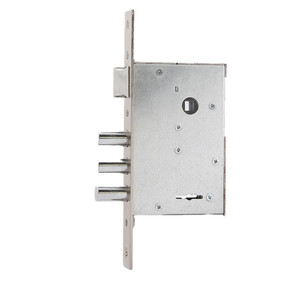 High quality cerradura mortise 3 iron bolt door lock body for iron door