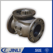 OEM Grey iron & ductile iron cast Factory price socket spigot tee