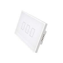 Energy saving BroadLink us standard 3 gangs 2 way low voltage remote control switch with finger touch screen