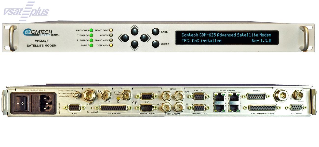 Comtech Ef Data Cdm-625 Advanced Satellite Modem