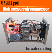 4500 psi Small Type Three-level Air Compressor Pump