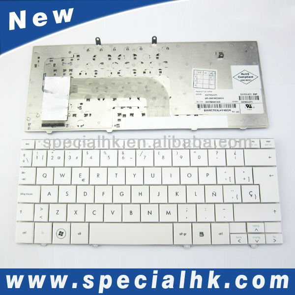 Tablet hdd externo teclado para hp mini 110-1000 blanco españa