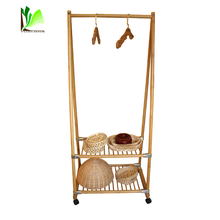 Versatility Simple Stand Folding Clothes Rack