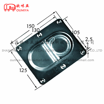 Top Quality Tie Down Lashing Ring Truck And Trailer Parts Recessed D Pull  Ring 131125am - Buy Top Quality Tie Down Lashing Ring Truck And Trailer