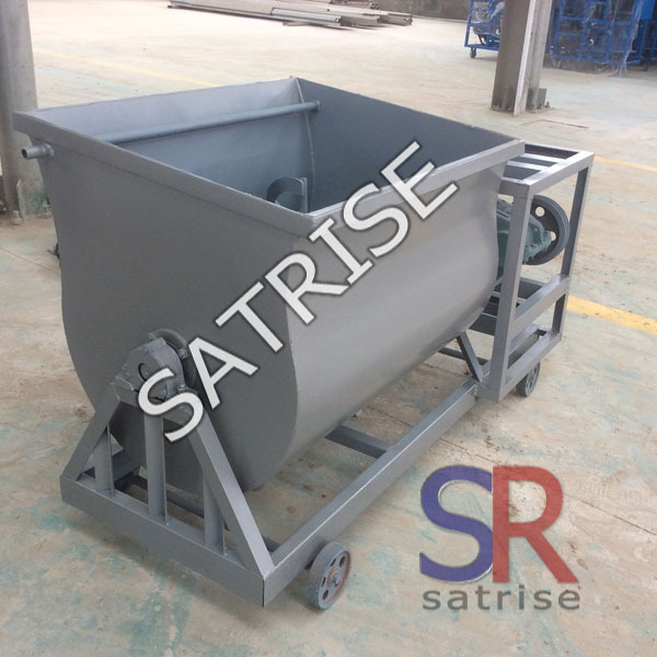 Stainless Steel Concrete Mixer : Stainless steel ribbon mixer strip mixing