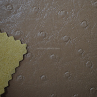 High Quality PVC Ostrich Leather for Bag Decorative
