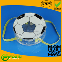 pvc soccer print mini carry bag