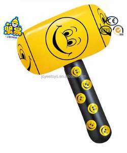 PVC inflatable plastic mallet with custom logo for advertising