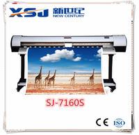 Economical large format 1.6/1.8/3.2m inkjet printer/eco solvent