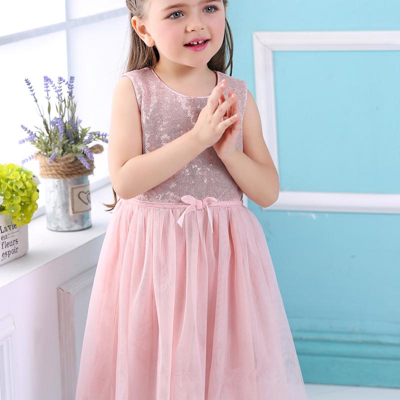 Pink Girls Sport barato al por mayor de los niños diseño vestidos de ...
