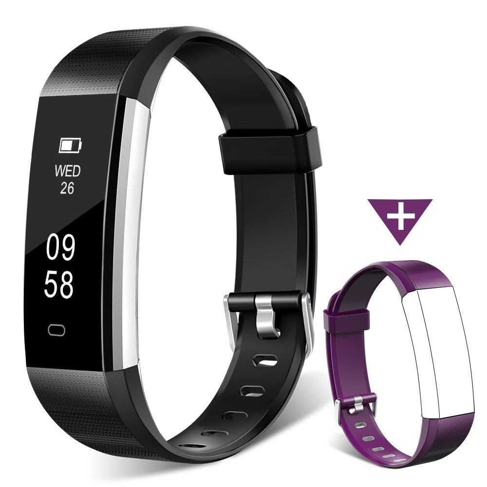 Fitness Tracker Watch, Homogo H2 Fitness Watch Activity Tracker with Sleep Monitor, Smart Pedometer for Step Distance Calories Track