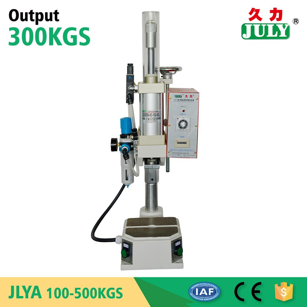 China JULY manual mini pneumatic punching press machine