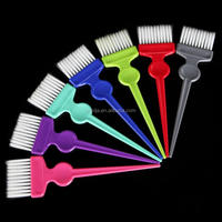 1PC Plastic Hairdressing Brushes Comb Salon Hair Color Dye Tint Tool Kit New Levert Dropship mar10