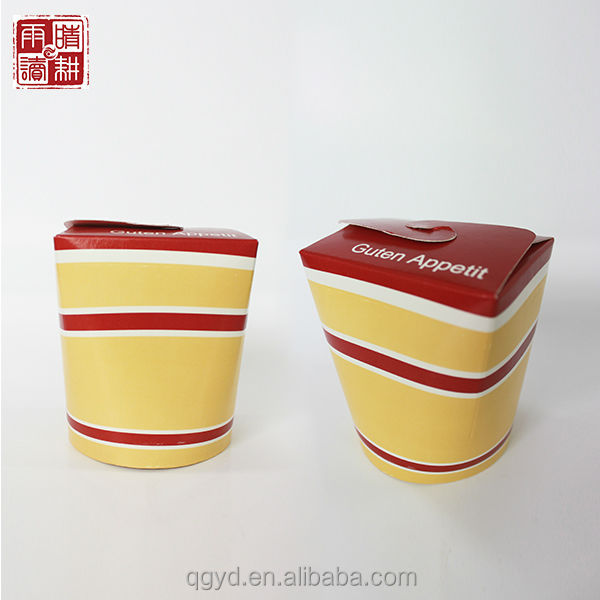 China fast food paper box, paper noodle packing box, take away food paper box