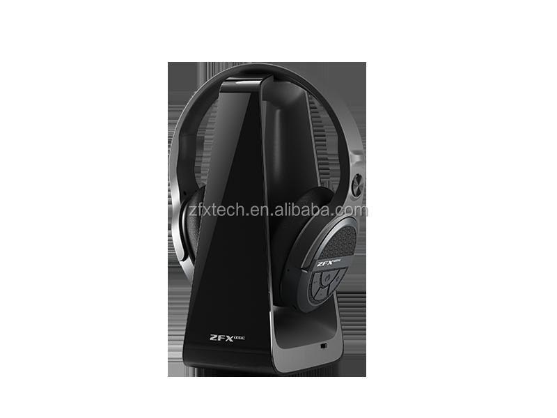 RF Kulaklıklar 2.4GHZ Hi-Fi TV kulaklık kablosuz kulaklık TV Izlemek için/PC/Oyun/Tiyatro, destek Optik, 3.5mm, RCA Ses