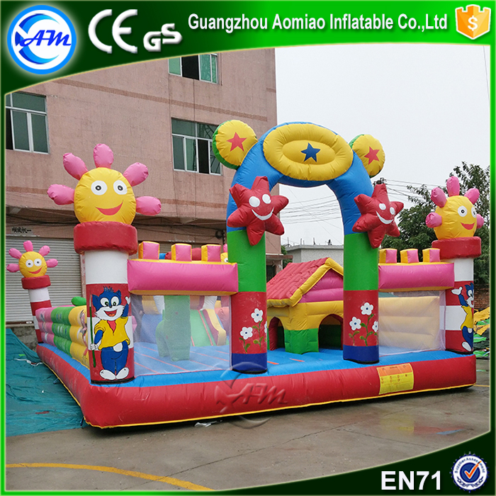 Hot sale inflatable fun city kids playground outdoor for sale