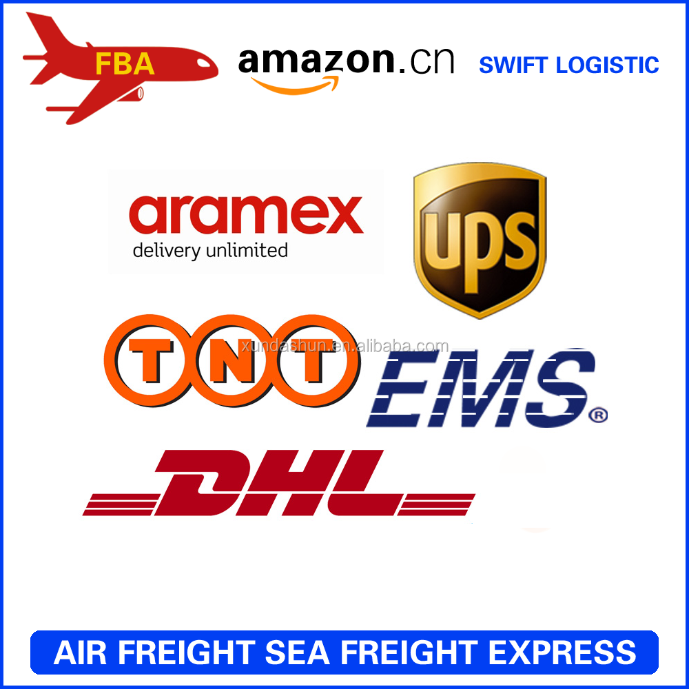 Shenzhen ups/dhl/fedex/tnt fba amazon express account to Greece